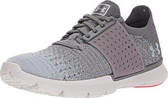 Under Armour Women/'s Highlight Delta 2 Running Shoe 8.5 103 Zinc Gray //Ivory
