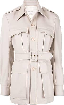 Karen Walker Olivine belted jacket - NEUTRALS