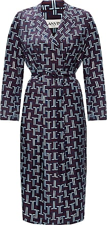 Lanvin Silk Dress Womens Brown
