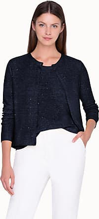 Akris Cardigan in Linen with Long sleeves
