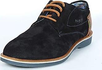 Bugatti Herren 312647021400 Derbys, Blau (Dark Blue 4100), 44 EU a0b382e97d
