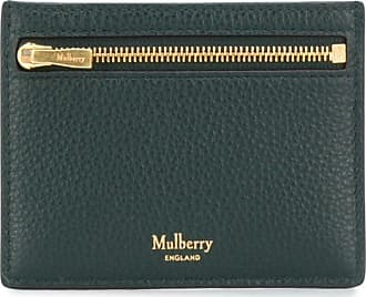 Mulberry compact logo cardholder - Verde