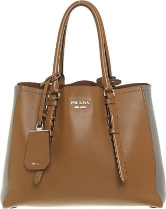 ece72a5180b7f Prada gebraucht - Handtasche aus Leder in Ocker - Damen - Leder