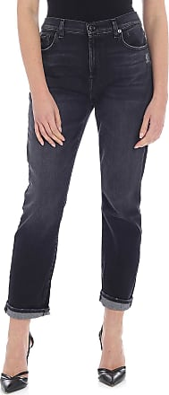 7 For All Mankind The Relaxed Skinny Jeans in black