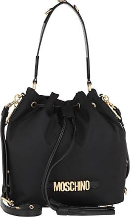 Moschino Bucket Bags - Bucket Back Logo Black Fantasy Print - black - Bucket Bags for ladies