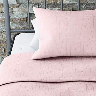 Dorel Home Products Novogratz Dream Quilt Set with Stylish Design in Brushed Microfiber - Soft & Lightweight - 2 Piece (Pink, Twin)