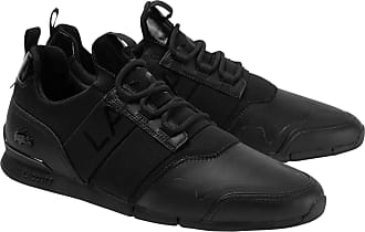 Lacoste Menerva Elite 120 2 Trainers Black - 10 UK