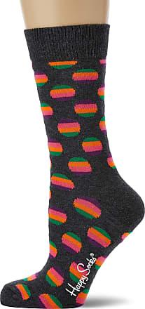 Happy Socks Womens Sunrise Dot Sock, Multicolour (Multicolour 980), 4-7 (Size:36-40)