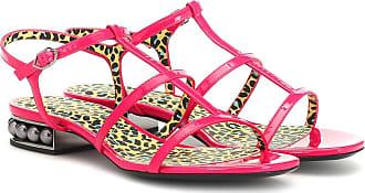 Nicholas Kirkwood Casati patent leather sandals