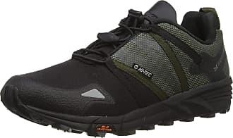 Hi-Tec Mens V-LITE OX-Trail Racer Low Walking Shoe, Olive Night/Black