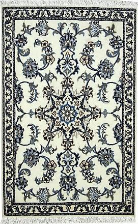 Nain Trading 119x77 Handknotted Nain Rug Dark Grey/Beige (Wool, Iran/Persia)