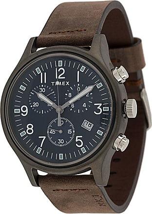 Timex Relógio cronógrafo MK1 42mm - Marrom