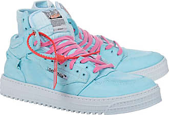 Off-white Canvas Off Court Light Blue