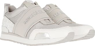 Michael Kors Sneakers - Teddi Trainer Aluminum - grey - Sneakers for ladies