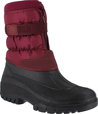 Groundwork GroundWork LS87 Womens Muckers Mukker Stable Winter WaterProof Lined Snow Boots UK 8 Burgundy
