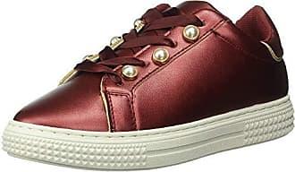 Qupid Womens WAVER-02A Sneaker Burgundy 7 M US