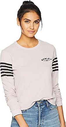 614720c304231 Hurley Womens Graphic Long Sleeve Waffle Thermal T Shirt
