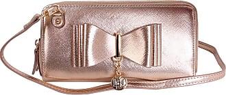Craze London New Womens LYDC London Bow Designed Women Wallet Handbag Fashion Purse (Gold)
