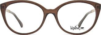 Kipling Óculos de Grau Kipling FUN KP3093 E749 Marrom Translúcido Lente Tam 52