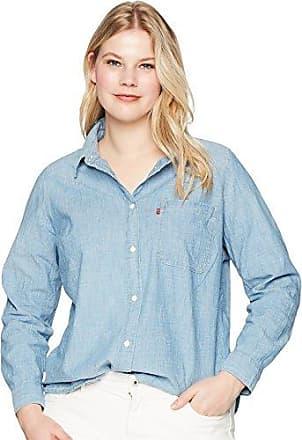 2d5b8918e93 Levi s Womens Plus-Size Ryan 1 Pocket Boyfriend Shirt