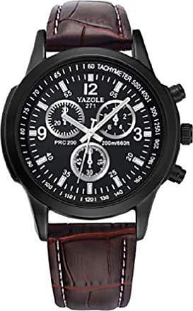 Yazole Relógios de pulso Pulseira de Couro YAZOLE W 271 (2)