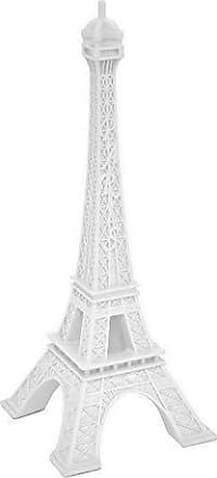Three Hands Tabletop Splendid Eiffel Tower, White
