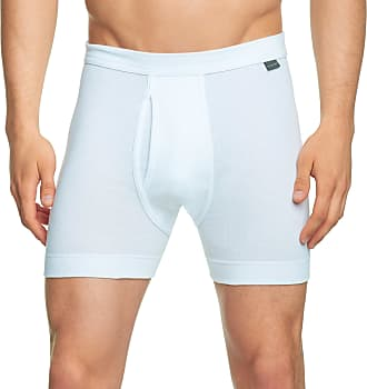 Schiesser Mens Y-fronts Thermal Bottoms, White (100-Weiss), 6