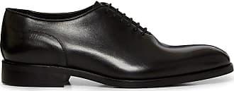 Reiss Mens Bay Lace Up Black Whole Cut Shoe 11 UK
