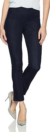 NYDJ womensPull on Skinny Ankle Jean with Side Slit Jeans - Blue - 12 28