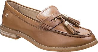 e71a8c9325c Hush Puppies Womens Ladies Chardon Penny Leather Loafers (8 UK) (Tan)