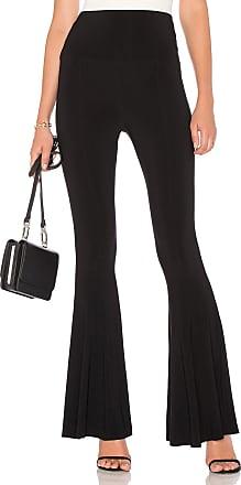 Norma Kamali Fishtail Pant in Black