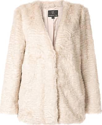 Unreal Fur faux fur jacket - NEUTRALS