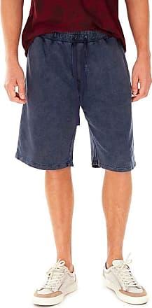 SideWalk Bermuda Moletom - Azul Jeans - Tamanho P