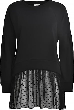 Deha Felpa Girocollo III Pullover für Damen | schwarz
