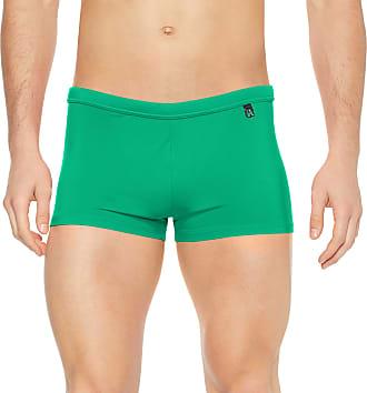 HOM Mens Sunlight Swim Shorts Trunks, Green (Vert 1126), XX-Large (Size: 2XL)