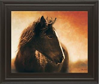 Classy Art Monero Mustang Framed Wall Art - 8156