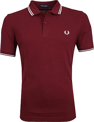 Fred Perry Polohirt Burgunder