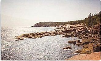 KESS InHouse Jillian AudreyThe Maine Coast Coastal Artistic Aluminum Magnet, 2 by 3, Multicolor