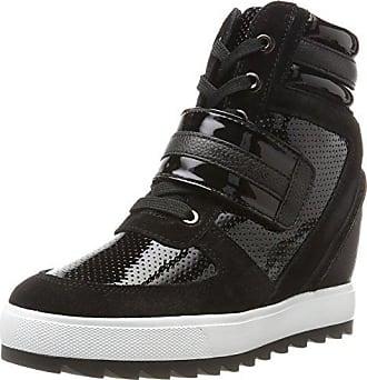Armani Jeans Damen Zeppa Hohe Sneaker d6a6b226555