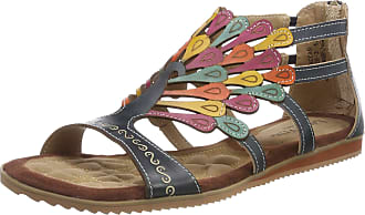 Laura Vita Womens Vaccao Gladiator Sandals, Jeans, 9 UK/42 EU