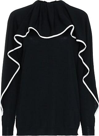 Valentino ruffled jumper - Black