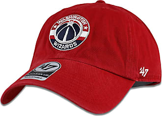 47 Brand 47 Washington Wizards Clean Up Red Adult Adjustable Hat