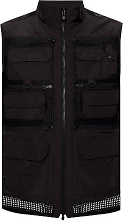 White Mountaineering Vest With Pockets Mens Black