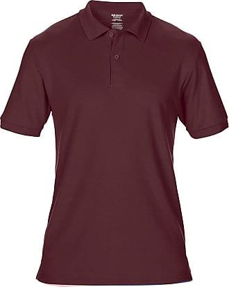Gildan Gildan Mens DryBlend Adult Sport Double Pique Polo Shirt (2XL) (Maroon)