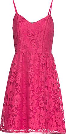 Bodyflirt Dam Spetsklänning i stark rosa utan ärm - BODYFLIRT 484e24d73bccb