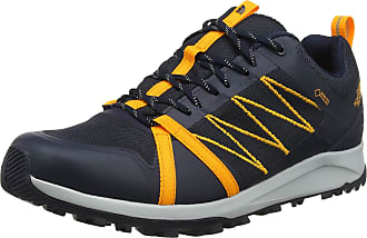 The North Face The North Face Mens M Litewave Fastpack II GTX Low Rise Hiking Boots, Blue (Urban Navy/Zinnia Orange Cd0), 7.5 UK (41 EU)