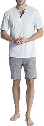 f01daacd02 CALIDA Relax Gentle Kurz-Pyjama mit Knopfleiste Herren