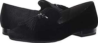 Aerosoles Womens Roundabout Loafer, Black Fabric, 5 M US