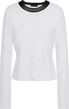 e1af3abea Rag & Bone Rag & Bone Woman Cutout Stretch-knit Top White Size XXS
