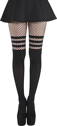 3 Paar Damen Trend Fischnetz Socken Blogger Fishnet Socks Netz Schwarz